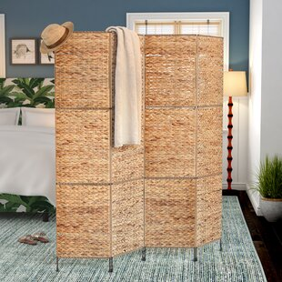 Castine 4 Panel Room Divider By Beachcrest Home