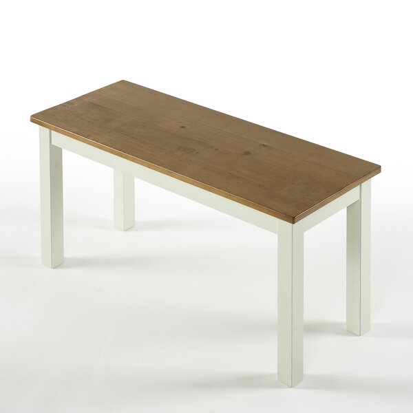Pfarr Solid Wood Bench by Gracie Oaks