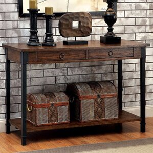Braden Industrial Console Table by 17 Stories