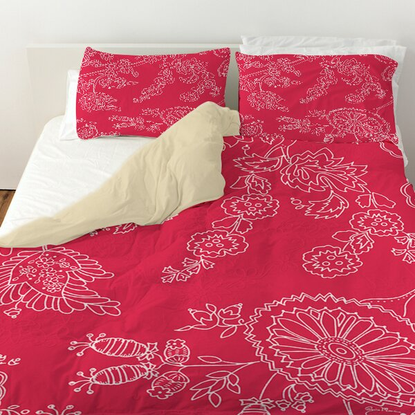 Anima Outline Duvet Cover by Manual Woodworkers & Weavers
