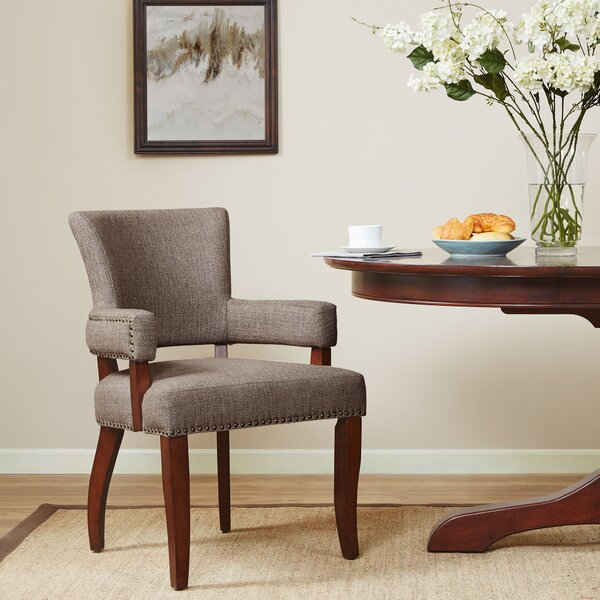 Swensen Upholstered Dining Chair by Charlton Home