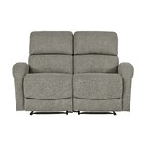 Polkton Reclining 58.2 Square Arm Loveseat by Winston Porter
