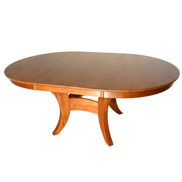 Verano Solid Wood Dining Table by Canora Grey