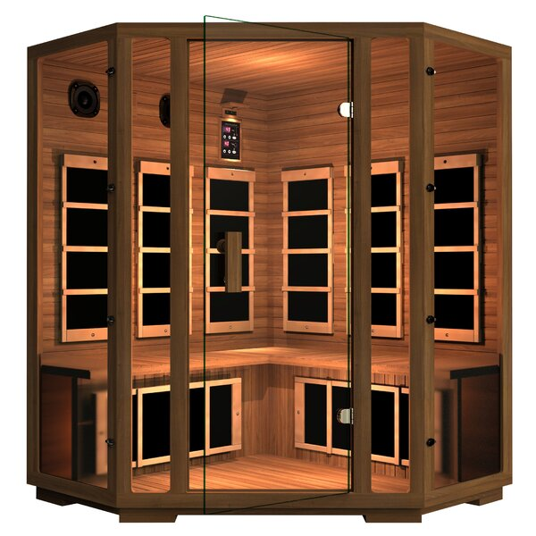 Freedom 4 Person FAR Infrared Sauna by JNH Lifestyles