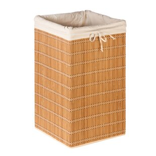 Charmant Square Wicker Laundry Hamper