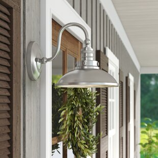 Looking for Fannie 1-Light Outdoor Barn Light By Laurel Foundry Modern Farmhouse
