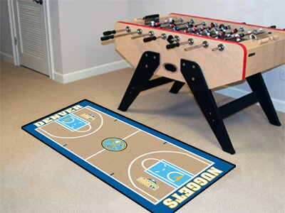 NBA - Denver Nuggets NBA Court Runner Doormat by FANMATS