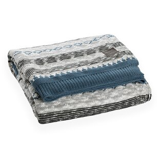Lodge Patterned Cotton Throw