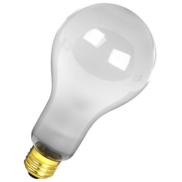 300W Frosted 120-Volt Incandescent Light Bulb by FeitElectric