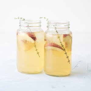 mason jar set set of 2 - Mason Jar Drinking Glasses
