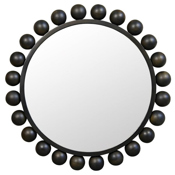 Cooper Metal Wall Mirror by Noir