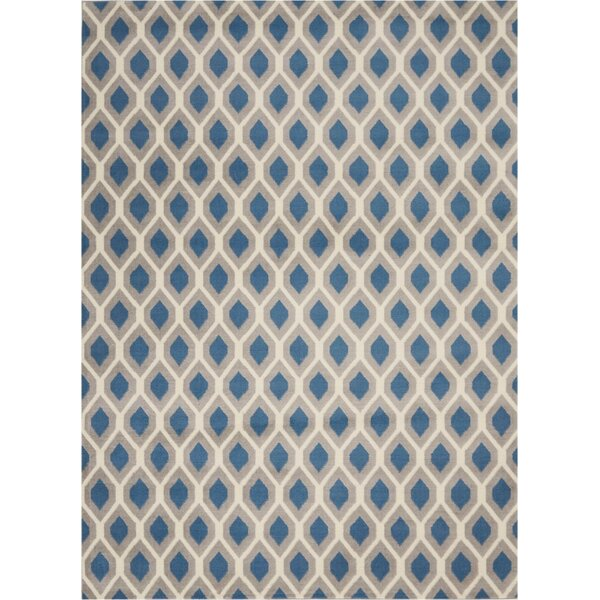 Susan Blue Indoor Area Rug by Charlton Home
