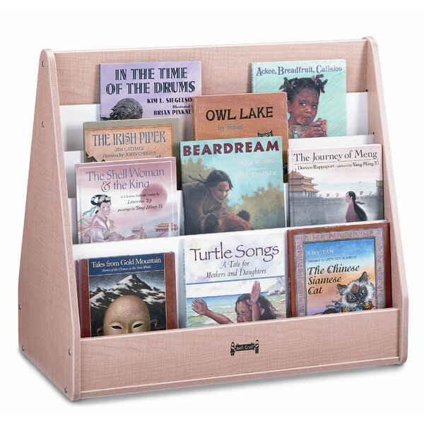 Double Sided 6 Compartment Book Display by Jonti-Craft