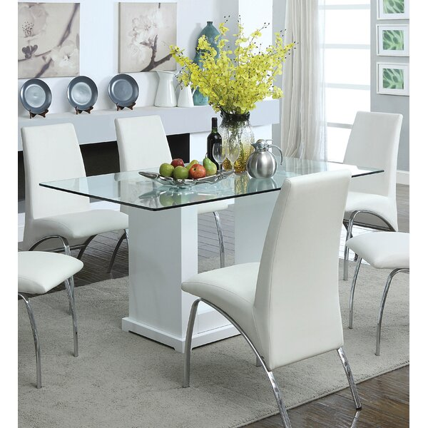 Best #1 Coley Dining Table By Orren Ellis 2019 Coupon