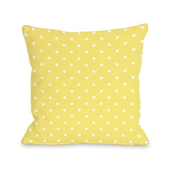 You Are My Sunshine Throw Pillow by One Bella Casa