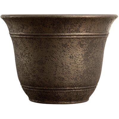 Sierra Resin Pot Planter Myers/Akro Mills Color: Nordic Bronze, Size: 11.8'' H x 16'' W x 16 D