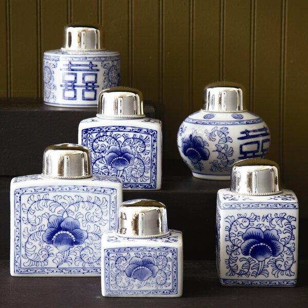 6 Piece Canton Jar Set by Canora Grey