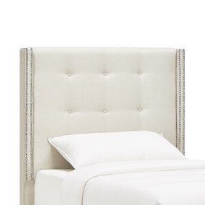 Gittan Upholstered Wingback Headboard by Willa Arlo Interiors