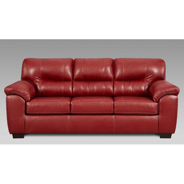 Rainsburg Red Sofa by Red Barrel Studio