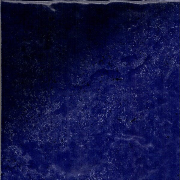 Seabreeze 6 x 6 Porcelain Field Tile in Navy by QDI Surfaces