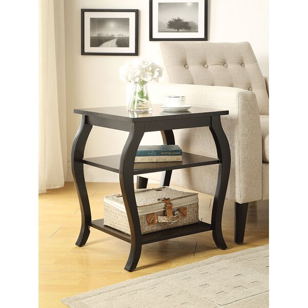 Sturdevant End Table With Storage By Alcott Hill