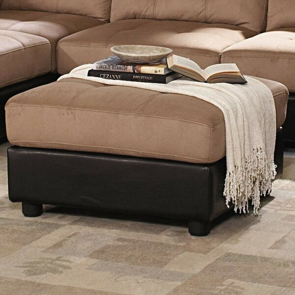 Moxee Transitional Tufted Storage Ottoman by Winston Porter