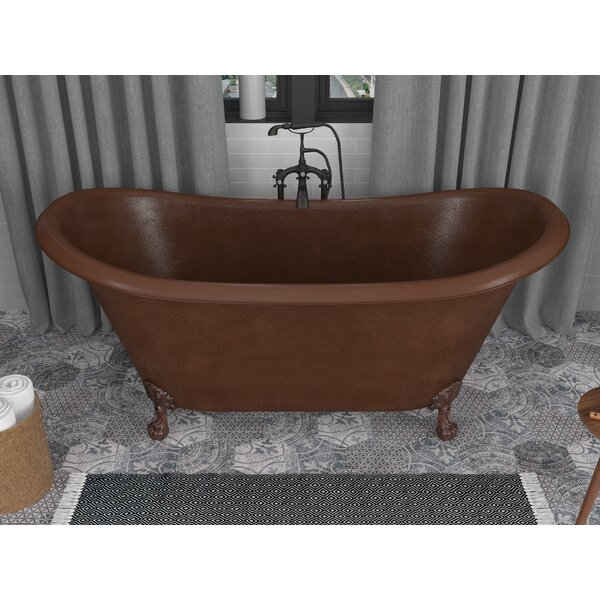 Iida Series 66 x 30 Clawfoot Soaking Bathtub by ANZZI