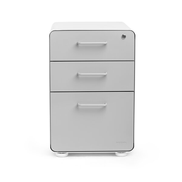 3 Drawer File Cabinet by Poppin