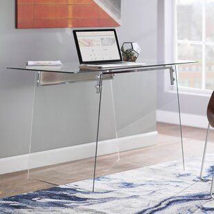 Mestas Glass Writing Desk