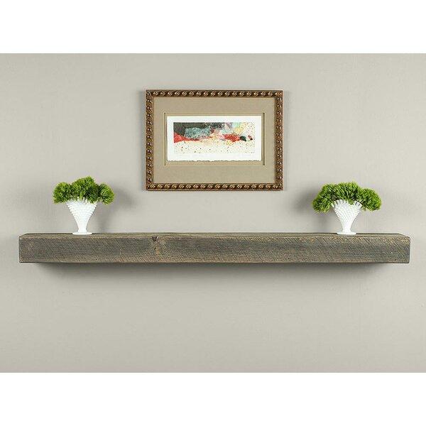 Drift Wood Rustic Box Beam Fireplace Shelf Mantel by Mantels Direct