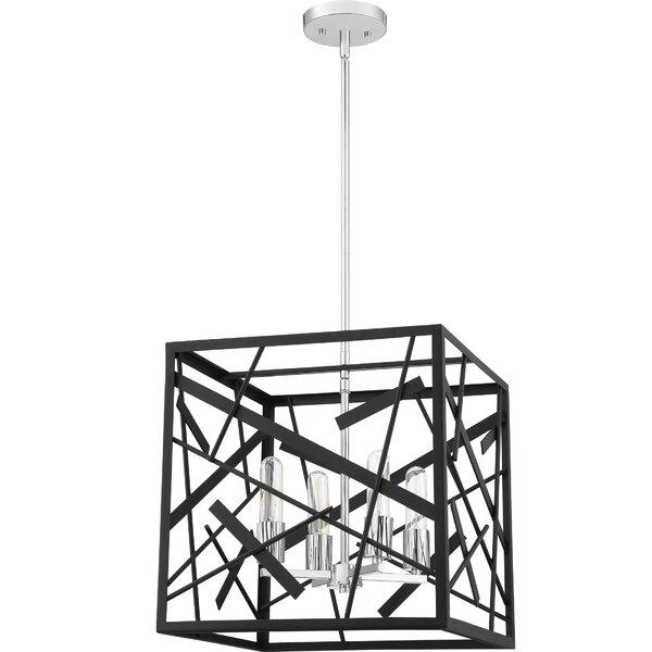 Raziya 4 - Light Lantern Square / Rectangle Chandelier By Brayden Studio
