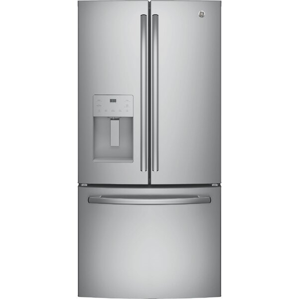 17.5 cu. ft. Energy Star Counter Depth French Door Refrigerator by GE Appliances