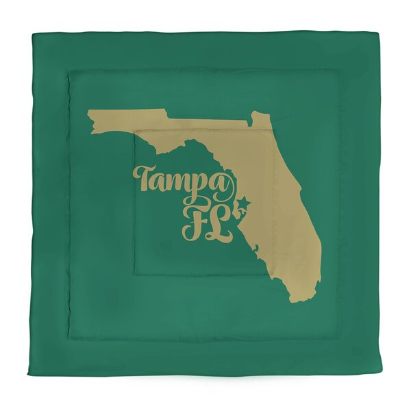 Tampa Single Reversible Comforter