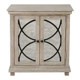 Best Reviews Millbank Mirror Front 2 Door Accent Cabinet By Alcott Hill