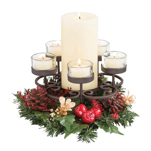 Traditions Centerpiece Candelabra by The Holiday Aisle