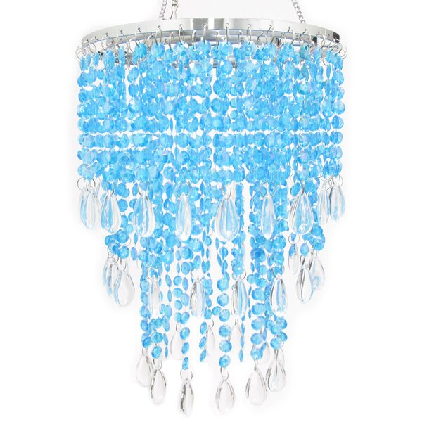 Holladay 3 Tier Tear Drop Crystal Chandelier by House of Hampton
