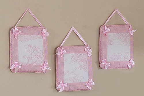 3 Piece French Toile Wall Hanging Set by Sweet Jojo Designs