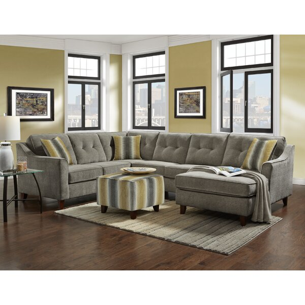 Hayworth Left Hand Facing  Sectional by Brayden Studio
