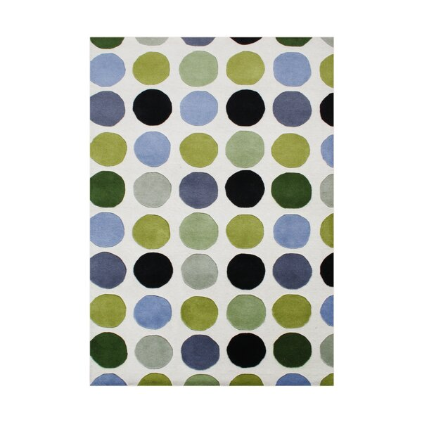 Sunriver Hand-Tufted Green Area Rug by The Conestoga Trading Co.