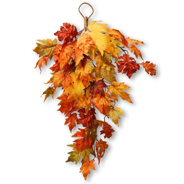 Harvest Maple Leaf Teardrop by National Tree Co.