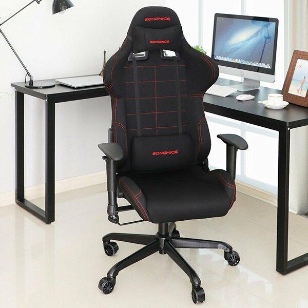 Etzel High-Back Racing Sport Ergonomic Gaming Chair by Rebrilliant