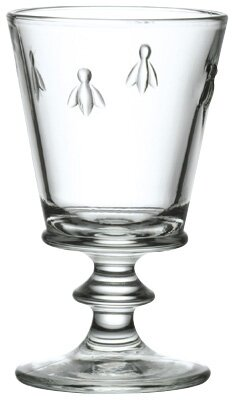Napoleon Bee 12 oz. Crystal Every Day Glass (Set of 6) by La Rochere