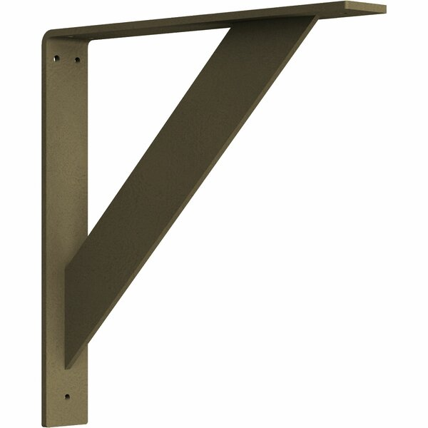 Traditional 14H x 2W x 14D Steel Bracket by Ekena Millwork