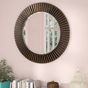 World Menagerie Round BathroomVanity Mirror