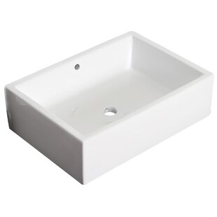 Searching for Ceramic Rectangular Vessel Bathroom Sink with Overflow ByRoyal Purple Bath Kitchen