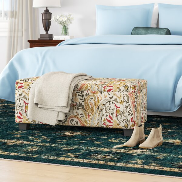 Pelayo Tufted Storage Ottoman by Winston Porter