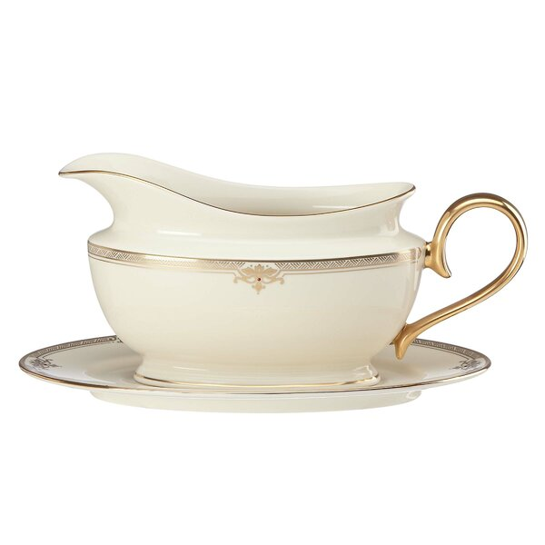 Republic Gravy Boat by Lenox