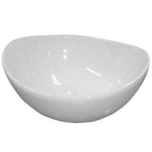 Comparison Vitreous China Circular Vessel Bathroom Sink By Barclay