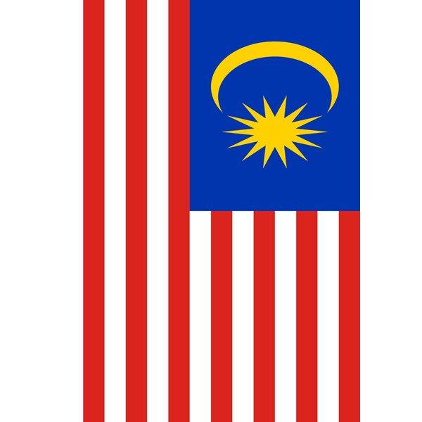 Malaysia Garden flag by Toland Home Garden