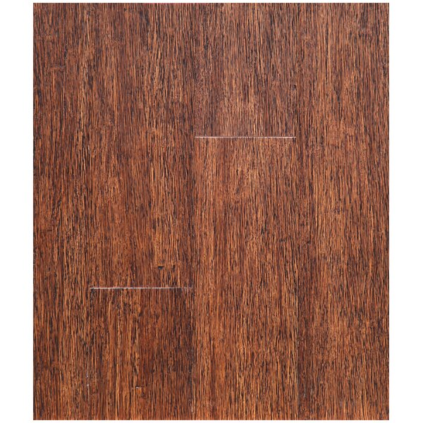 4-3/4 Solid Strand Woven Bamboo  Flooring in New Bark by Easoon USA